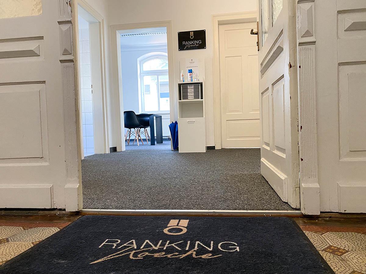 Die Ranking Köche SEO Agentur Esslingen Eingang