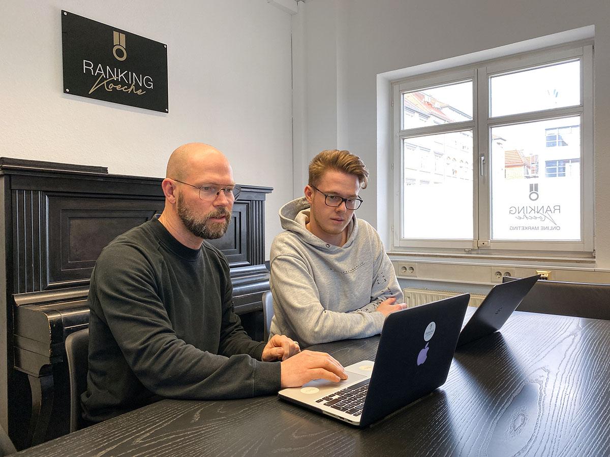 Die Ranking Köche SEO Agentur Karlsruhe mit den Chefs
